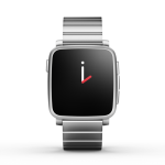 Pebble Time Steel silver acciaio
