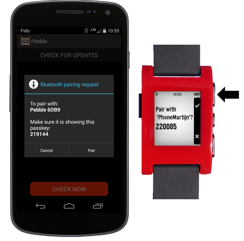 pebble_watch_italia_android_bluetooth_associazione