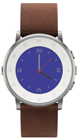 pebble_time_round_argento_con_pelle_marrone_Nubuck