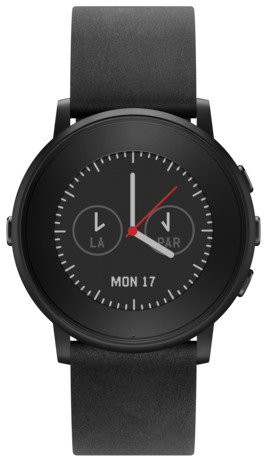 pebble_time_round_nero_e_pelle_Nero_Black