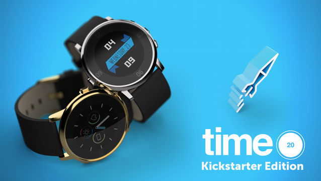 Pebble time round special edition kickstarter
